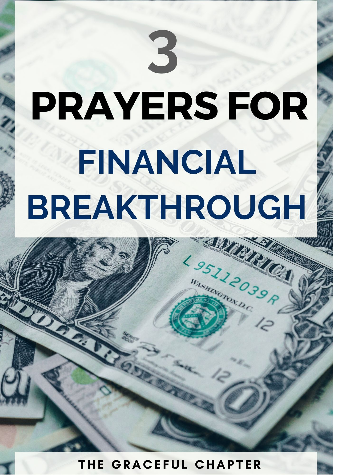 3 prayers for financial breakthrough