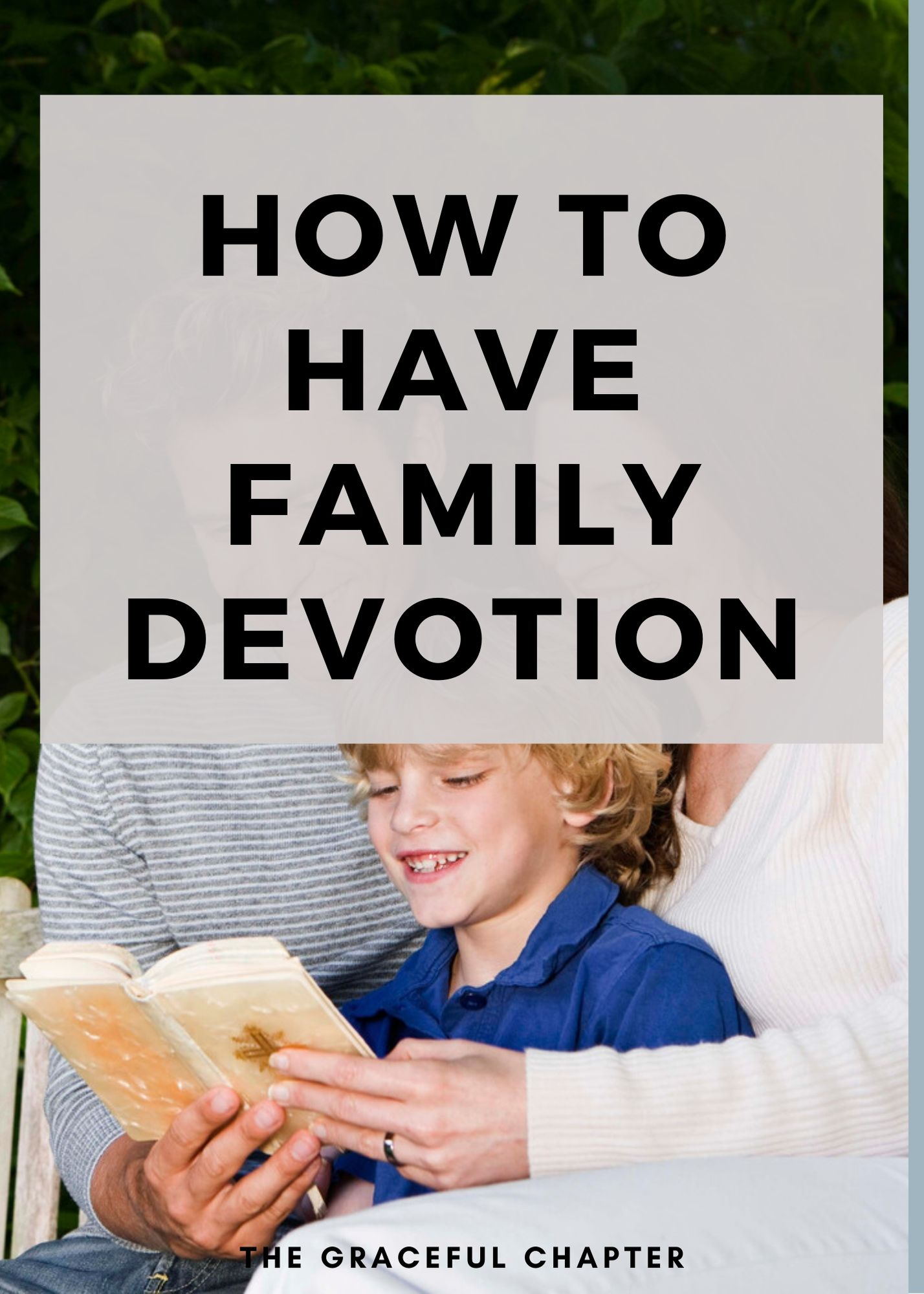 how to have family devotion