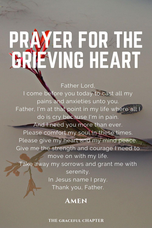 prayer for the grieving heart