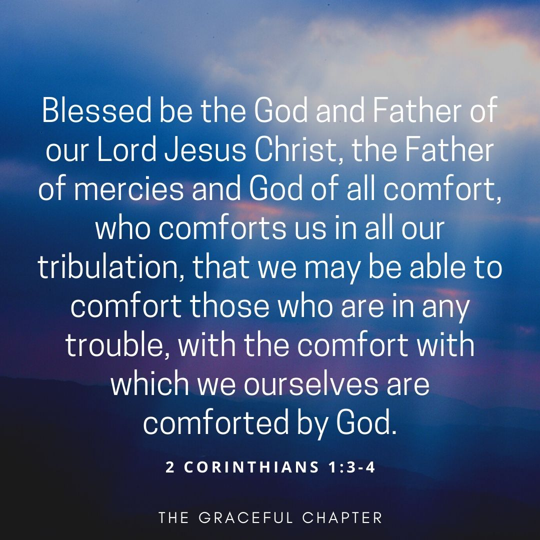 The Lord is my comforter