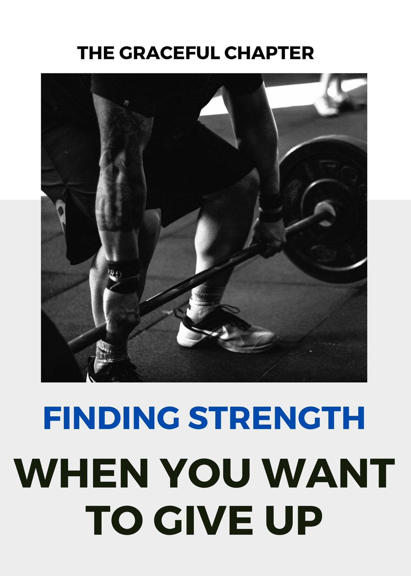 Finding strength when you want to give up