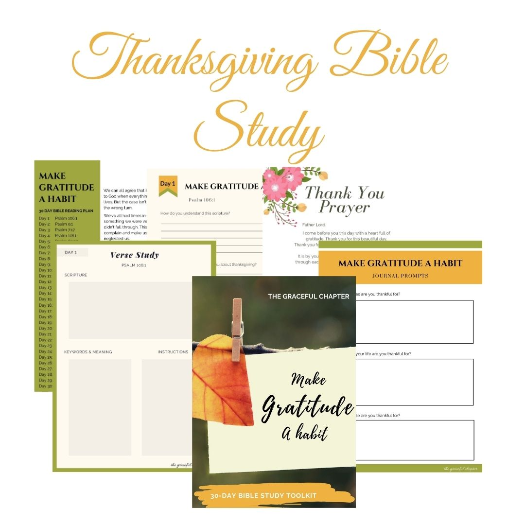 thanksgiving bible study