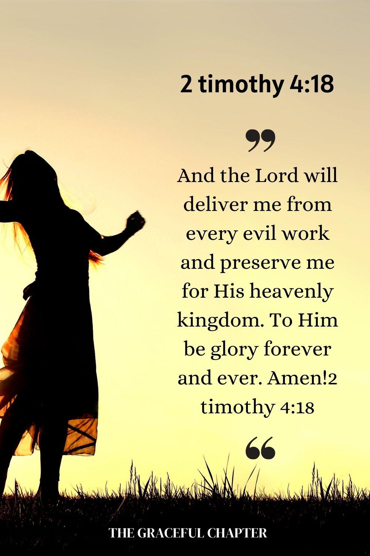 2 timothy 4:18