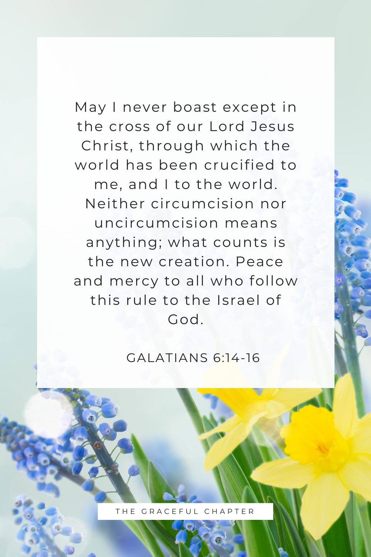Galatians 6:14-16