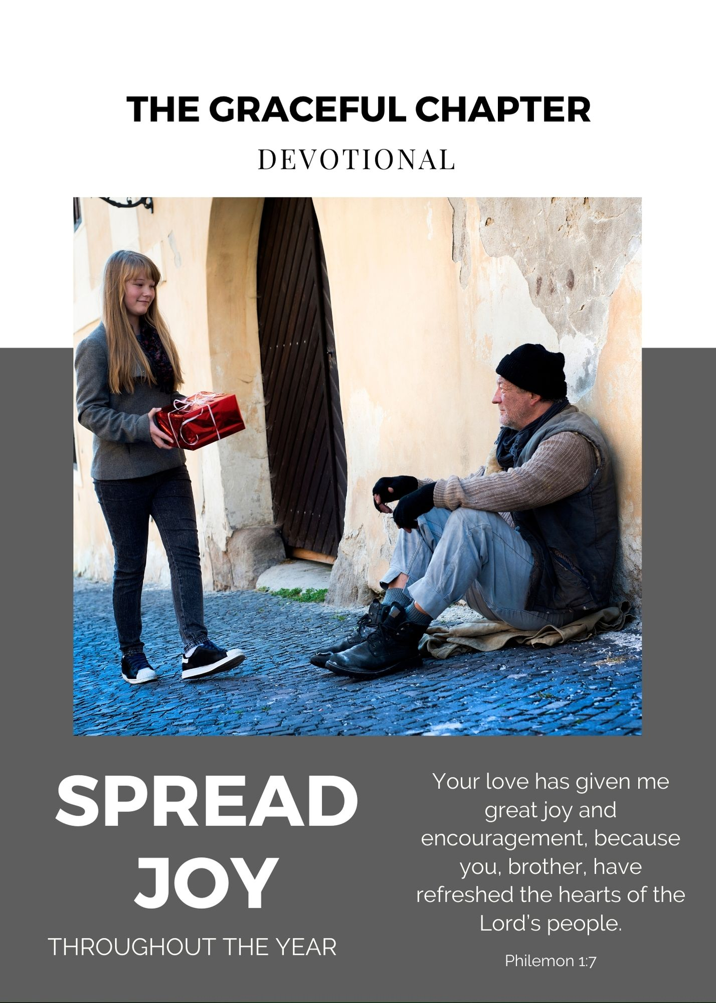 Devotional - spread joy
