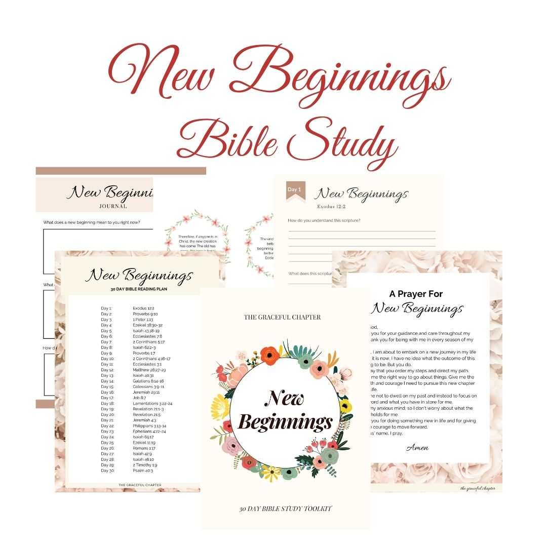 new beginnings bible study