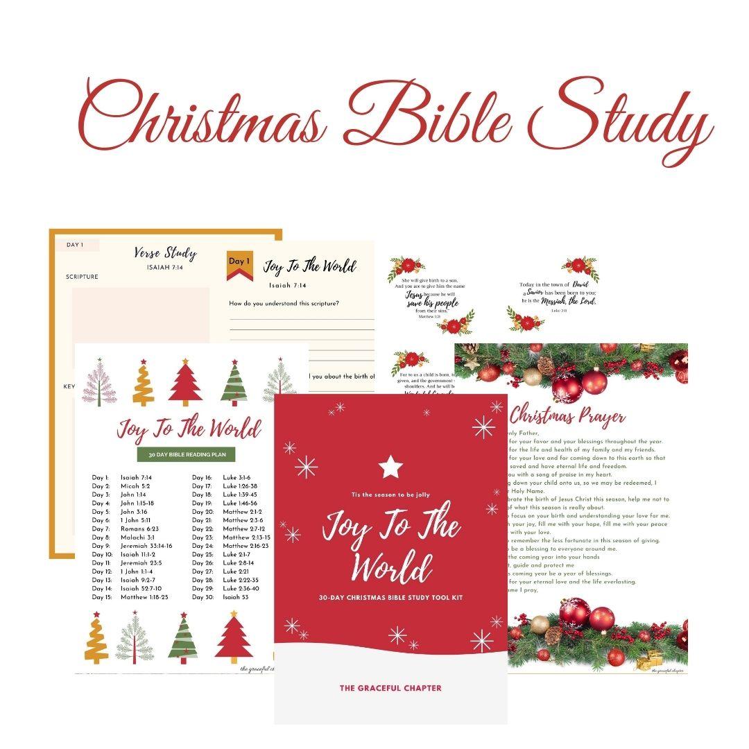 Christmas Bible study toolkit CHristmas Bible reading plan