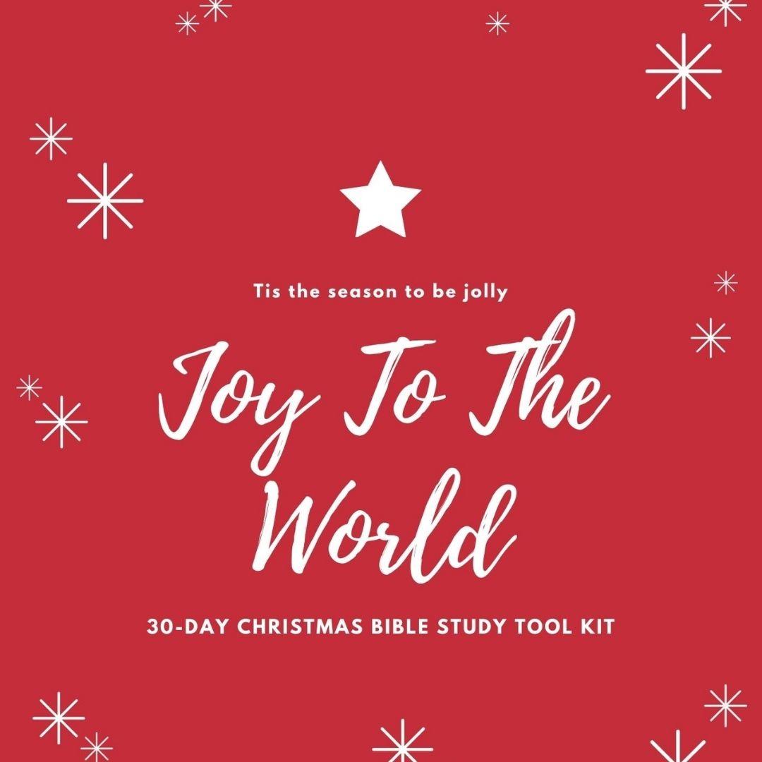 Joy to the world - 30 days Christmas bible study toolkit
