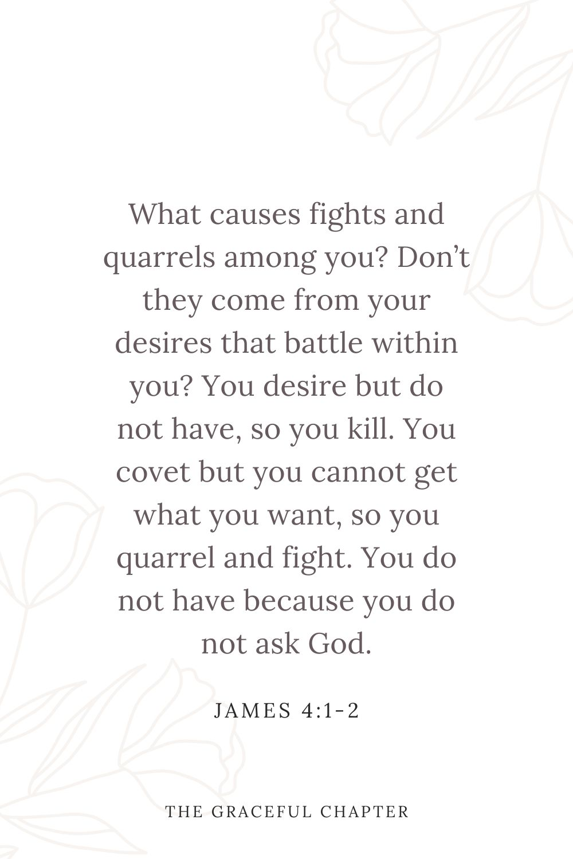 James 4:1-2