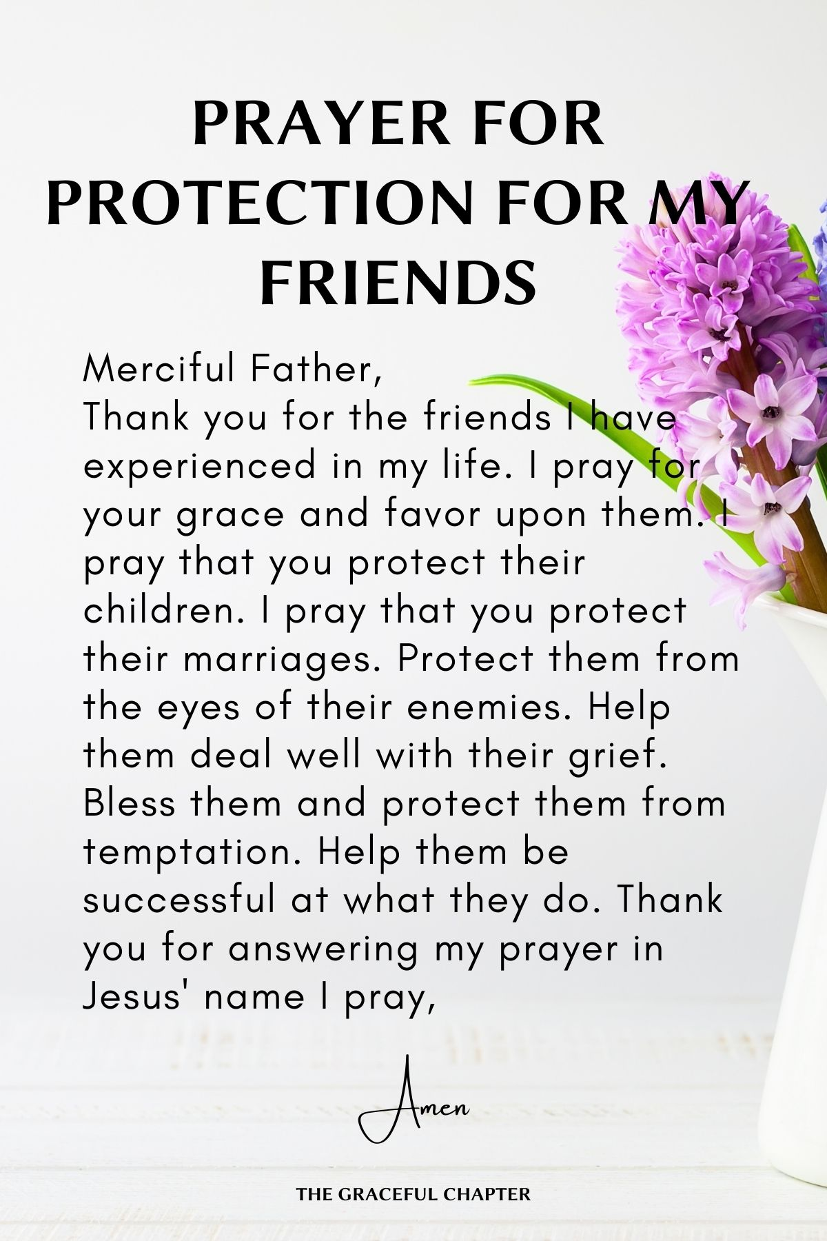 Prayer for Protection for friends