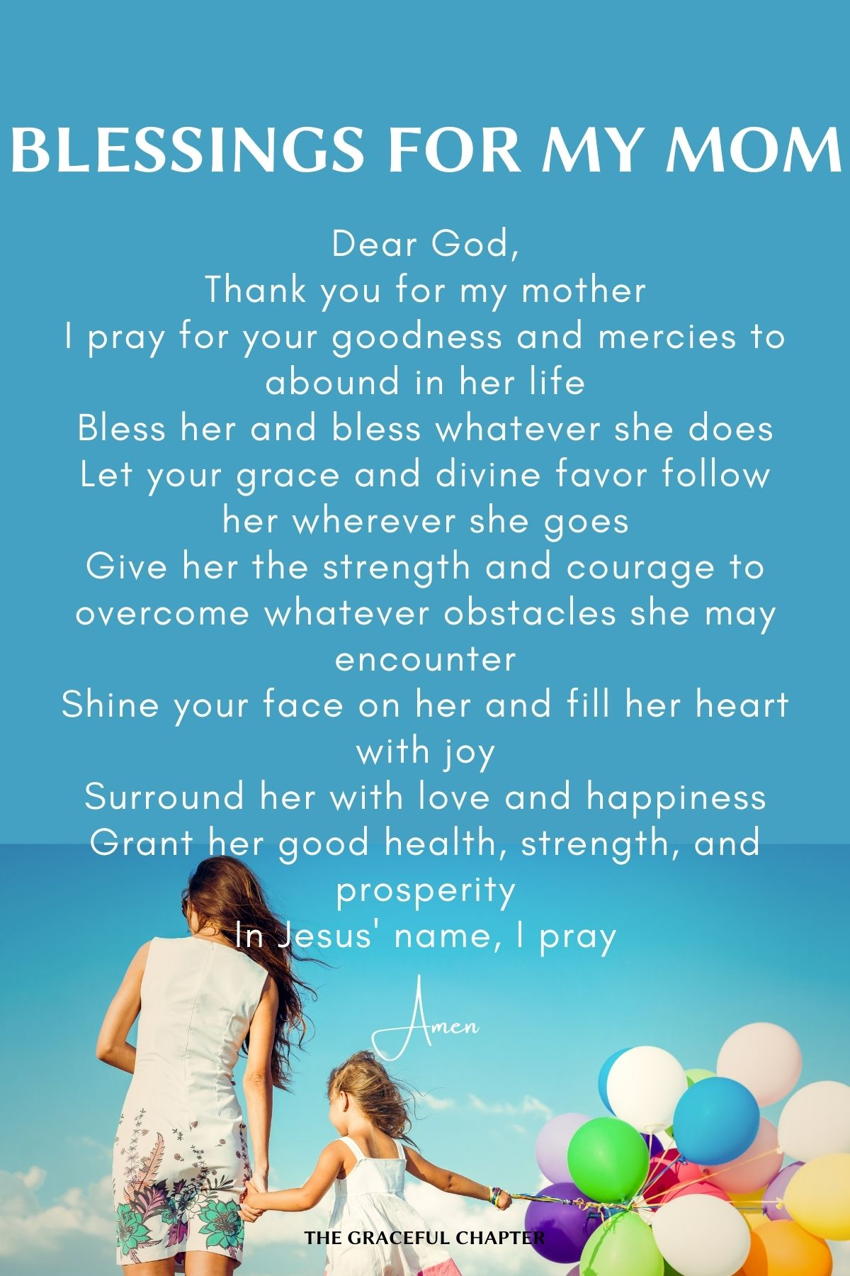 Blessings for my mom