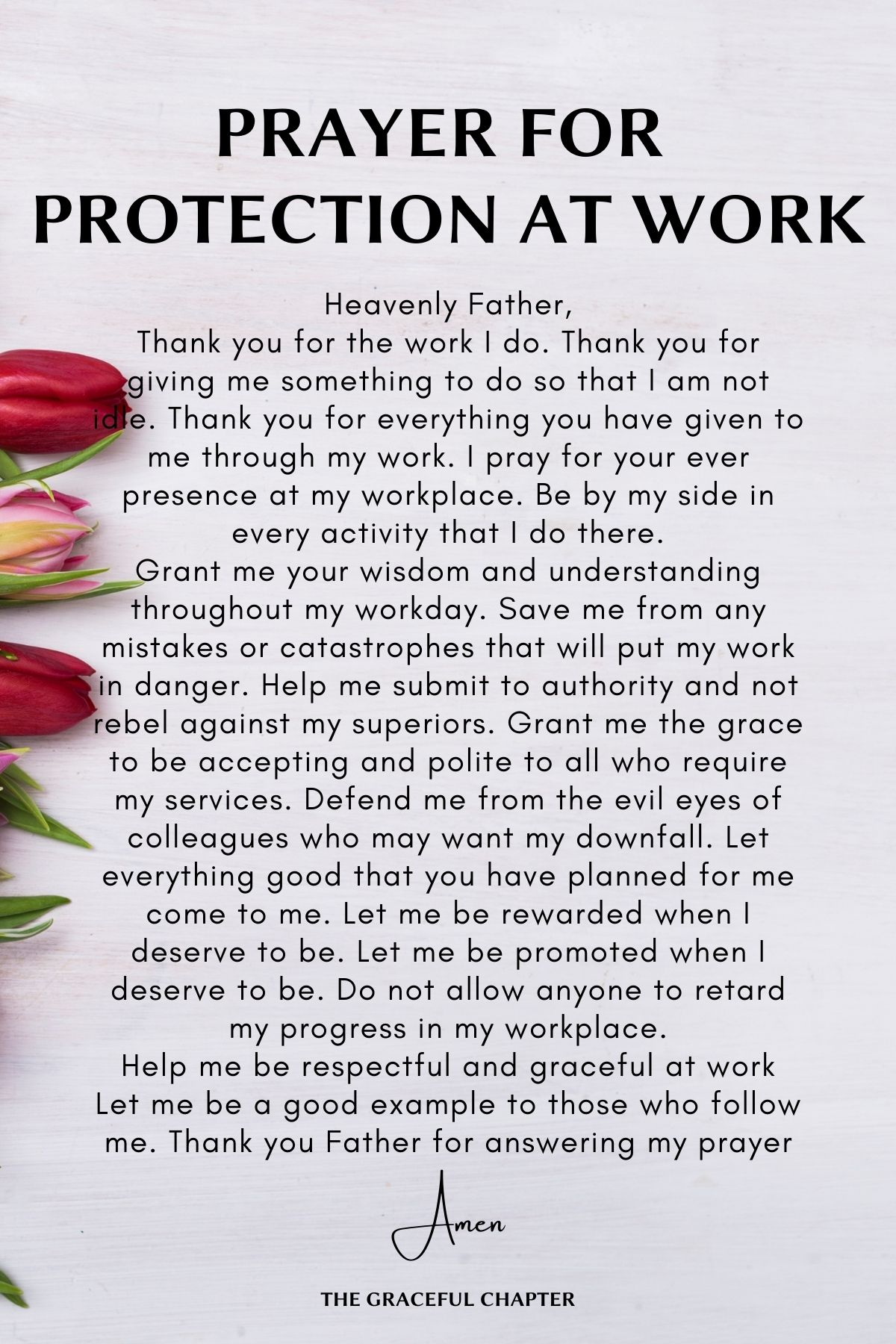 Protection at work