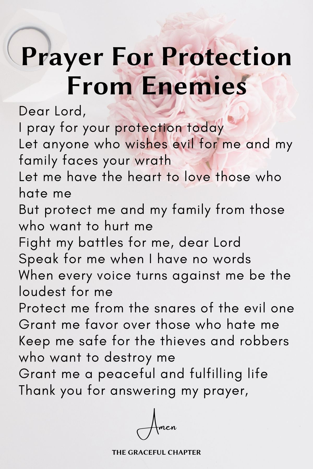 Prayers for Protection from enemies