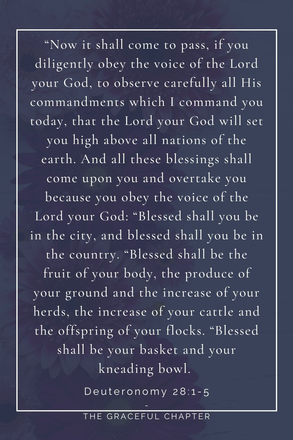 bible verses about blessings