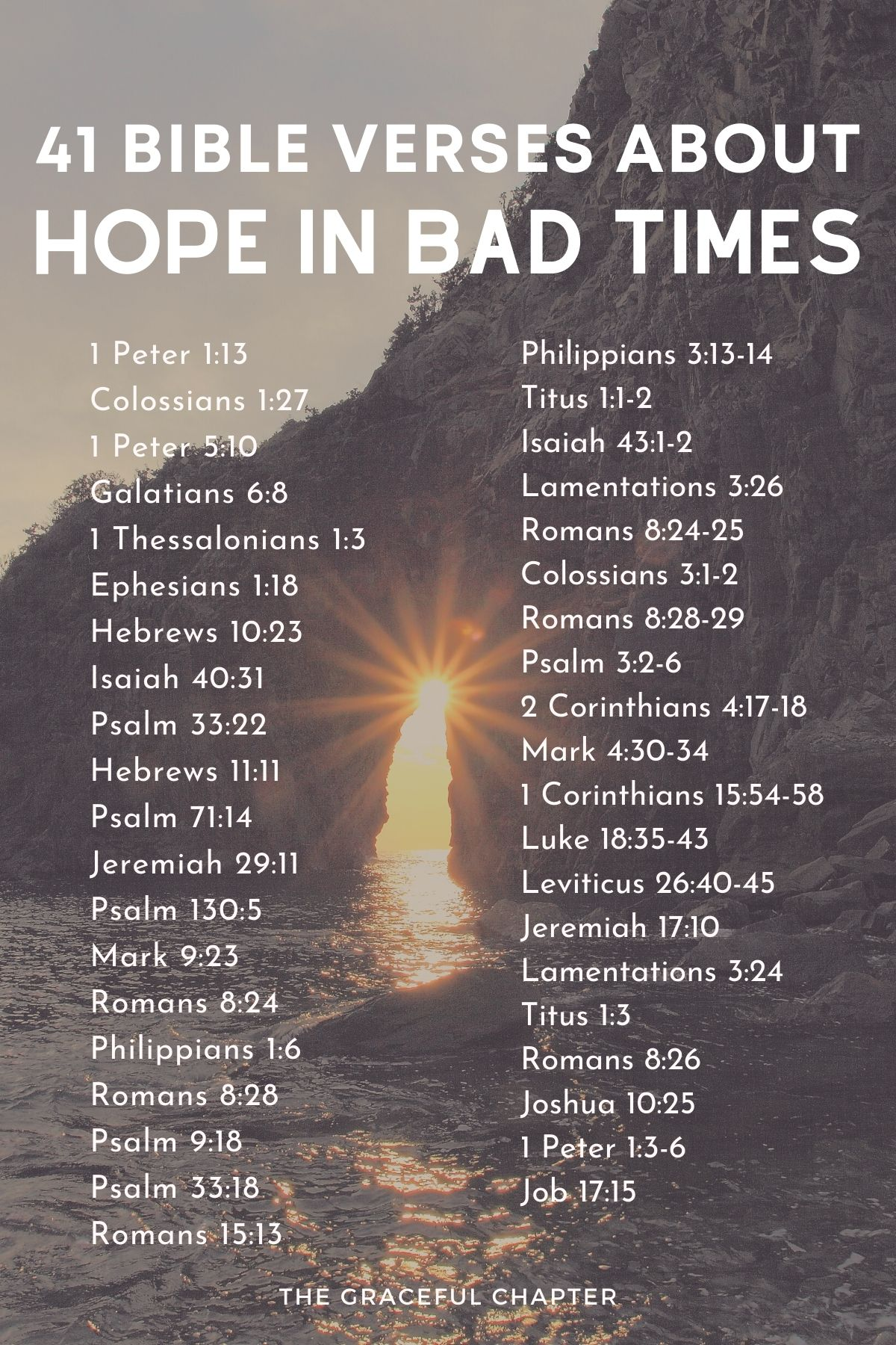 bible verses for hope in bad times